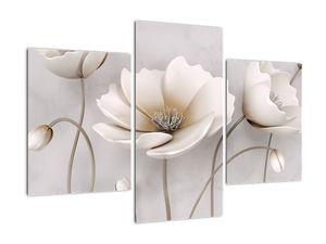 Obraz bílých květin (V020898V90603PCS)