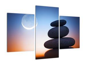 Obraz poskládaných kamenů na sobě (V020903V90603PCS)