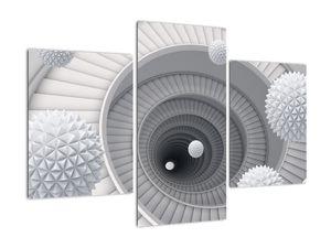 3D apstraktna slika (V020975V90603PCS)