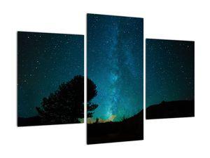 Obraz nočnej oblohy s hviezdami (V021100V90603PCS)