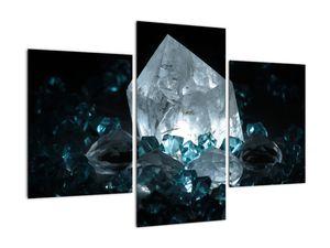 Schilderij - Kristal (V021107V90603PCS)