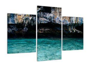 A víz és a sziklák képe (V021152V90603PCS)