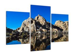 Obraz zrkadlenie skál (V021327V90603PCS)