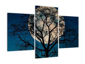 Obaz stromu s úplňkem (V021355V90603PCS)