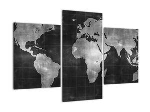 Obraz - Mapa světa (V021461V90603PCS)