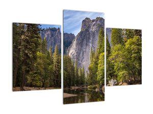 Kép - A Yosemite szikla alatt (V021691V90603PCS)