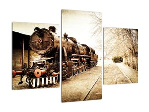 Slika - Povijesna lokomotiva (V021959V90603PCS)