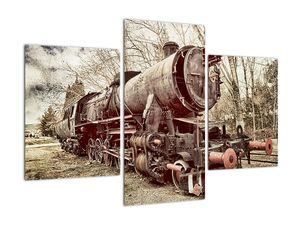 Povijesna slika lokomotive (V021965V90603PCS)
