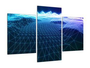 Slika - Planine u računalnom modelu (V022019V90603PCS)