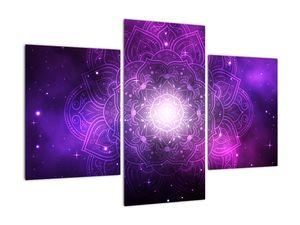 Obraz fialové abstrakce (V022148V90603PCS)