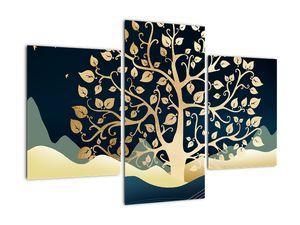 Slika zlatega drevesa (V022286V90603PCS)