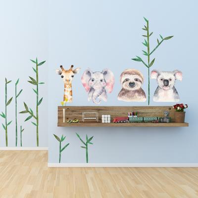 Samolepky na stenu - Safari (L080010)