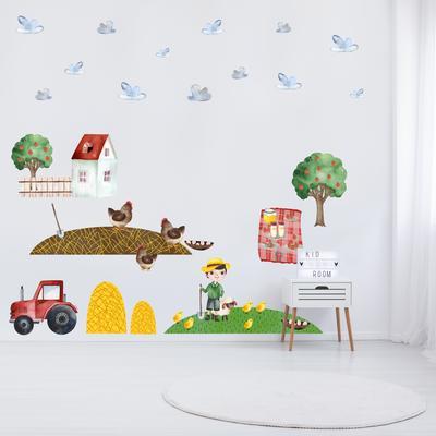 Samolepky na stenu - Na farme (L080013)