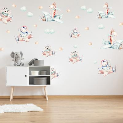 Samolepky na stenu - Let v oblakoch (L080014)