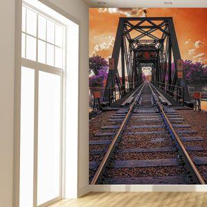 Fototapeta - Železniční most (T020384T133200)