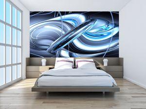 Fototapeta - Modrá abstrakce (T020061T200112)