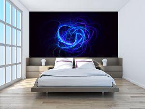 Fototapeta - modré abstraktní klubíčko (T020135T200112)