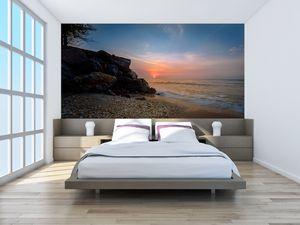 Fototapeta - Západ slunce na pláži (T020214T200112)