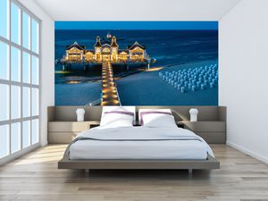 Fototapeta - Hotel na pláži (T020289T200112)