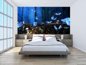 Fototapeta - Modří motýli (T020434T200112)