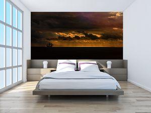 Fototapeta - Plachetnice v západu slunce (T020489T200112)