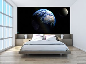 Fototapeta - Země a Měsíce (T020671T200112)