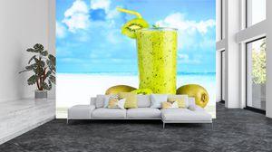 Fototapeta - Kiwi smoothie (T020171T200150)